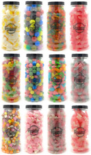 GIFT JARS of RETRO SWEETS Candy Wedding Favours Kids Treat Party Bags Bulk Candy