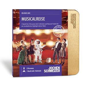 """Jochen Schweizer """"Musical Reise"""" Musical Gutschein , König der Löwen Musical"""
