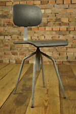 Vintage Office Chair Architects Grey Swivel Chair Desk Chair 60er