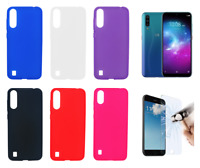 "Case Cover Gel TPU Silicone For ZTE Blade A7 2020 4G 6.09"" + Optional Protector"