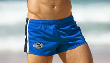 Aussiebum Rugby Pro Short Blue Size Small (S) Football Gym Mens Shorts Running