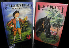 Black Beauty & Gullivers Travels, Hardback 2 books, Childrens classics.