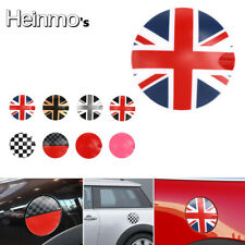 Red Union Jack Fuel Tank Gas Cap Cover Sticker For Mini Cooper R55 R56 Hatchback