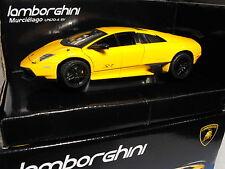 MODEL OF LAMBORGHINI MODEL LAMBORGHINI MURCIELAGO SPORTS YELLOW  SPORTS CAR GIFT