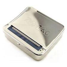 1x Zig Zag TIN Automatic Cigarette Tobacco Rolling Machine Box ZigZag Roller