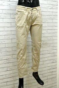 Pantalone da Uomo FAY Taglia 46 Jeans Slim Cotone Italy Men's Trousers Casual