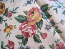 "Longaberger Garden Splendor Set Of 2 Valances-Multi Color Floral 18"" X 75"""
