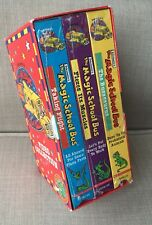 Magic School Bus VHS Set Of 3 Original Sealed