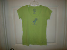 Brand New Misses Light Green Life is Good  Shirt, Size S