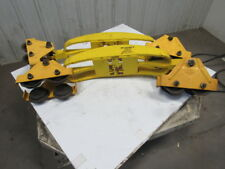 Budgit Hoist 509261-1 Bridge Crane Beam Trolley End Truck 1 Ton Cap. Set of 2