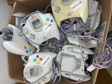 20 Broken Official OEM Sega Dreamcast Controllers Lot Parts/Repair