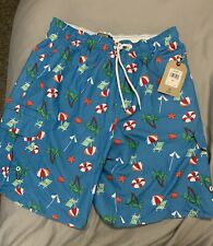 New listing mens beachy swim trunks large