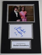 Shefali Chowdhury Signed Autograph A4 photo mount display Harry Potter Film COA