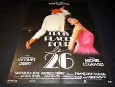 jacques demy TROIS PLACES POUR LE 26 yves montand affiche cinema