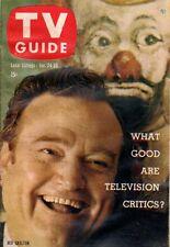 1959 TV Guide January 24 - Red Skelton;Cimarron City burns down;Sammy Kaye; Ida