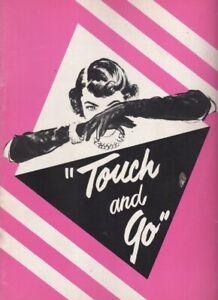 """Touch and Go""  Souvenir Program  OBC 1949   Peggy Cass,  Helen Gallagher"
