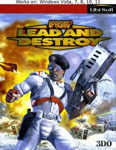 Uprising 2: Lead and Destroy PC Game 1998 Windows Vista 7 8 10 11