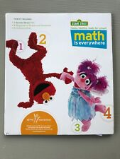 Sesame Street Preschool Math Is Everywhere Kit w/ Dvd & Book English Spanish New