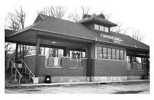 Wayne New Jersey 1990 Mountain View train station real photo pc Y12302
