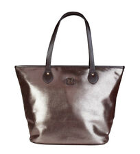 Brown Leather Metallic Bags & Handbags for Women