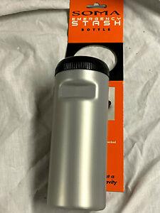 Soma Stash Bottle Silver large NEW  !!!