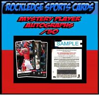 2019 Topps Now Futures World Series Singles Mystery Auto /50 (Pick Your Cards)