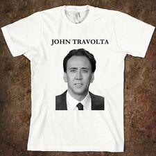 Nicolas Cage Face Off T-Shirt Men's Women's Funny Tee