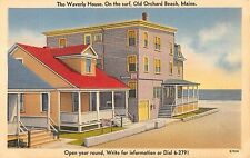 Old Orchard Beach, Maine Antique Postcard (T3437)