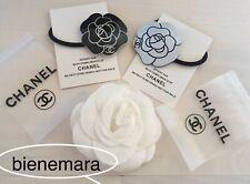 edle Chanel blogger Camellia Haargummi VIP Geschenk Present Gift Haarschmuck NEU