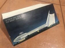 1965 GM General Motors Futurama NY Worlds Fair Large Folded Postcard