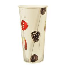 """1000 Shake-Becher Pappe 0,5 l Ø 9 cm 16,8 cm """"Berries"""" Einwegbecher Pappbecher"""
