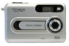 VistaQuest VQ815 8MP Silver Digital Camera Auto Focus