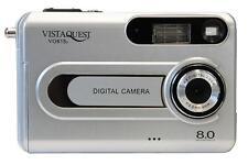 VistaQuest VQ815 8MP Silver Digital Camera Auto Focus