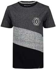 T-shirts, débardeurs et chemises noir coton mélangé à manches courtes pour garçon de 2 à 16 ans