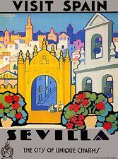 3 posavasos recuerdo souvenir vistas de Sevilla bailadora de flamenco gift spain