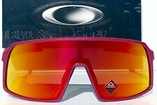 NEW Oakley SUTRO Red Metallic Pink Prizm Ruby Road Case Sunglass 9406 Mahomes