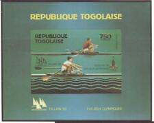 Togo Olympische Spiele Olympic Games 1980 Imperforated block MNH Rowing