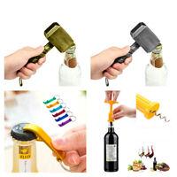 Marvel Avengers Thor Hammer Bottle Opener Beer Wine Mini Keyring Cork Corkscrew