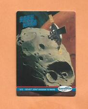 US- SOVIET JOINT MISSION TO MARS   SPACESHOTS TRADING CARD # 32 1991