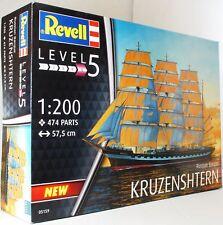 Revell 1:200 05159 ruso escribió 'Kruzenshtern' kit modelo de barco
