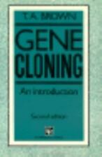 Gene Cloning : An Introduction by Terence A. Brown (1990, Paperback)