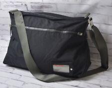 Prada Mens Black Bag Crossbag Travel Bag Shoulder Messenger Made Italy training