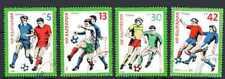 Football Bulgarie (34) série complète 4 timbres oblitérés