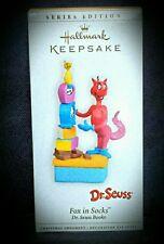 2006 Hallmark Keepsake 8th in Series Ornament Dr. Seuss Fox in Socks