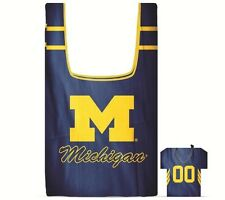 Michigan Wolverines Bag in a Pouch Reusable Shopping Bag