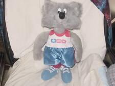 "16"" Silver Fox Plush Toy 1983 US Senior Olympics Rare"