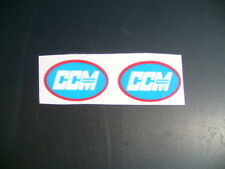 CCM 1974-1977 TWINSHOCK OVAL TANK STICKERS DECALS
