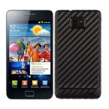 Skinomi Carbon Fiber Black Skin+Screen Protector for Samsung Galaxy S 2 T-Mobile