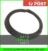 Fits TOYOTA KLUGER MCU28 4WD Lower Spring Mount Rubber