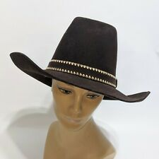 Vintage AMERICAN HAT CO. Houston Texas Wool FELT COWBOY WESTERN SIZE 7 1/2